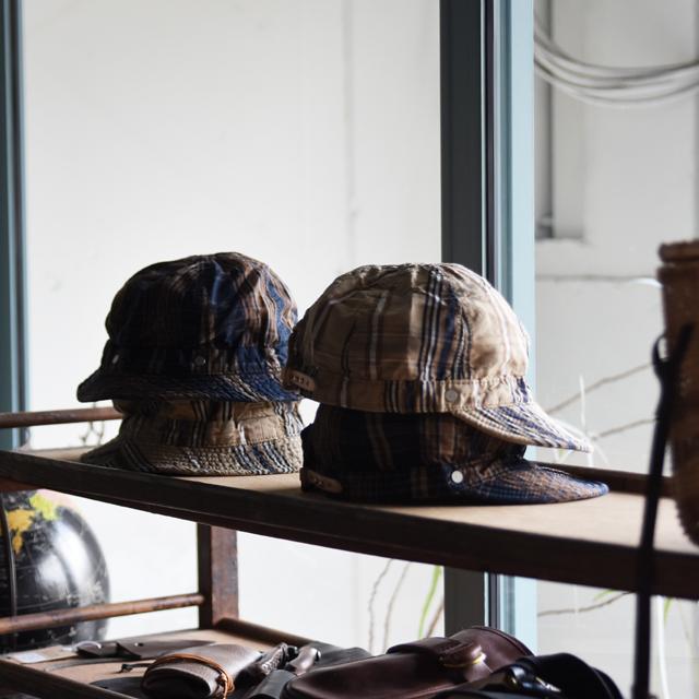 Decho(デコー)SHALLOW KOME CAPとHAT(綿麻)