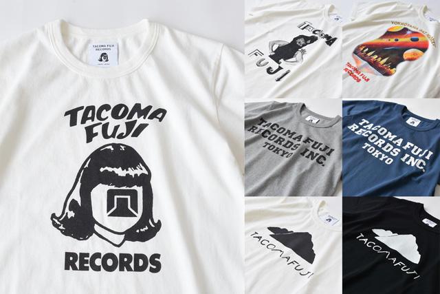 Tacoma Fuji Records(タコマフジレコーズ)2020ss T-shirts