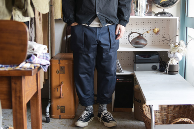 Senelier(セネリエ)PARIS 59 rivoli squater TOOLBOX CROPPED 4/5