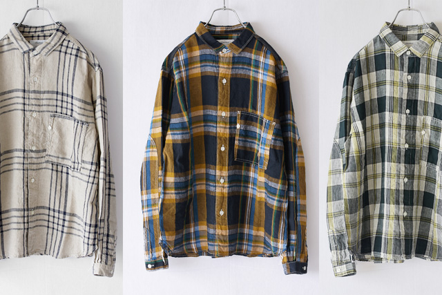 Another 20th Century(アナザートゥエンティースセンチュリー)Artwork� Linen Check