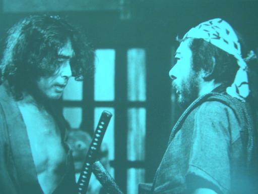 こちらはカツシン晩年の「浪人街」(原田芳雄と勝新太郎)から。