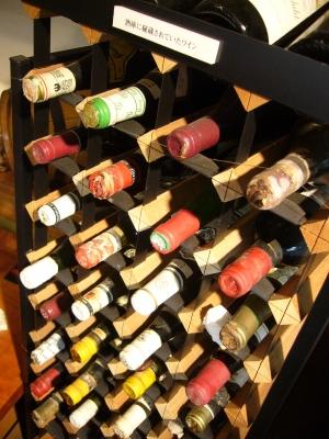 開高健邸ワインのコレクションボルドー産中心に。