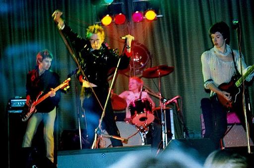 Sex Pistols at Castle Cinema 14th of December in 1976