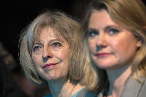 Theresa May & Justine Greening