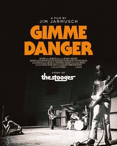 「Gimme Danger」フライヤー。
