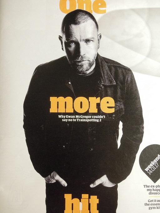 Ewan McGregor Interview on Weekend of the Guardian 140117