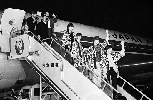 Beatles at Haneda Airport.jpg