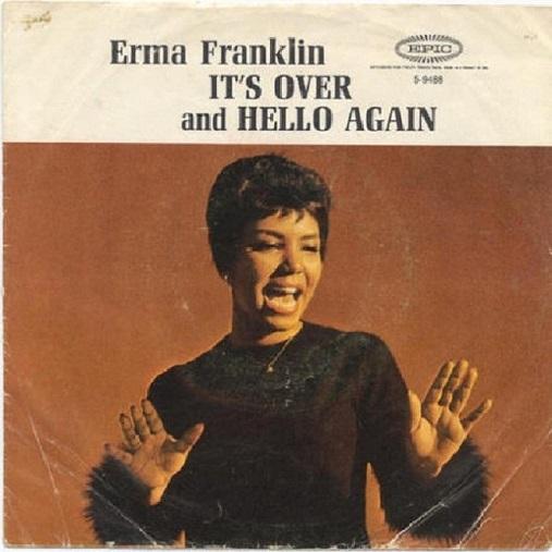 「Its Over」(Erma Franklin)ジャケット。