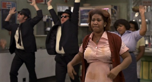 「(Aretha Franklin in )Blues Brothers」(1980)