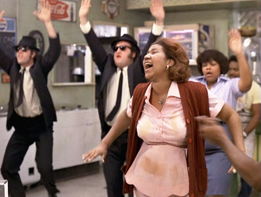「(Aretha Franklin in )Blues Brothers」(2)(1980)