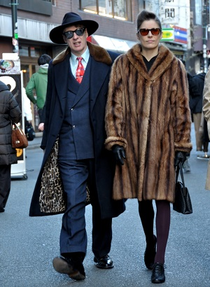 Gaz Mayall & His Wife in Tokyo