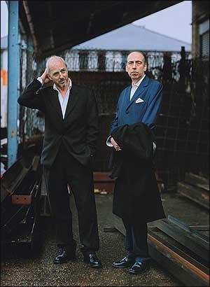 Tony James and Mick Jones in 2007