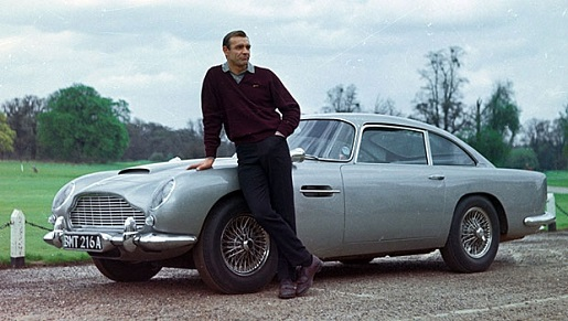 Aston Martin db5 1963 Bond Car