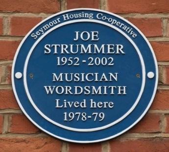 Joe Strummer Blue Plaque