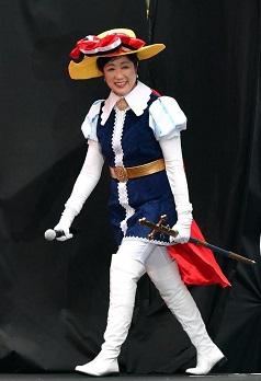 小池知事 in サファイア王子