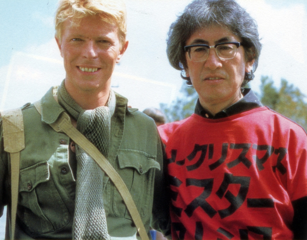 David Bowie with Nagisa Ohshima in 1983.jpg