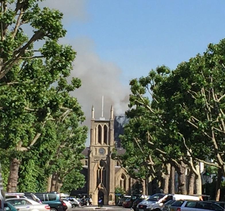 Burning Grenfell Tower from Saint James Churchi  (2).JPG