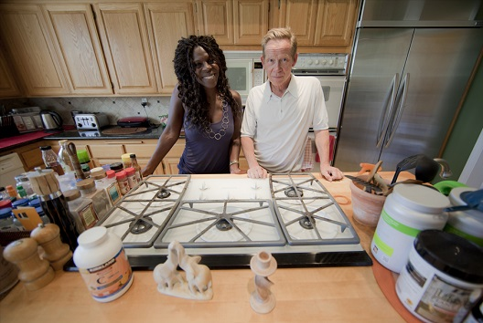Jeni and Paul Cook at their kitchen.jpg