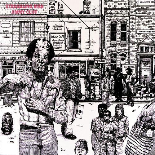 「Struggling Man」(1973年)ジャケット。.jpg