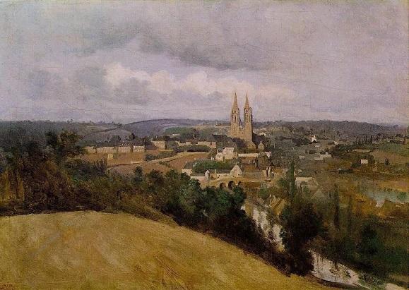 Jean-Baptiste Corot, La Vire à Saint-Lô.jpg