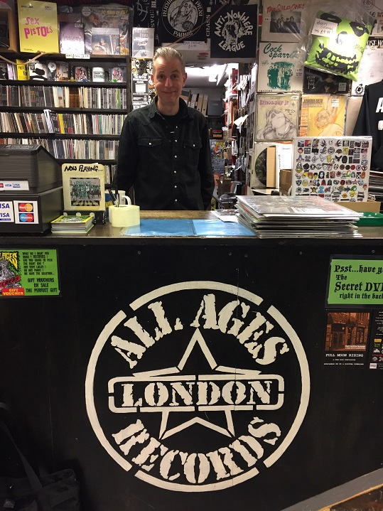 Nick Collins at his All Ages Records.jpg