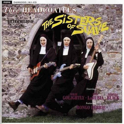 「The Sisters of Suave」(The Headcoatees)ジャケット。.jpg