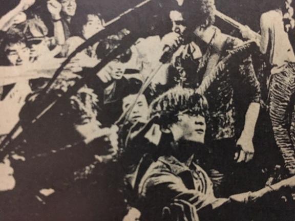 シーナ&ロケッツwith山口冨士夫@渋谷Live Inn(1986年1月)(掲載)
