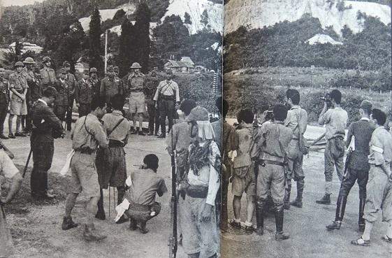 1942年2月16日 山下奉文とArthur Percivalの会談翌日の記者会見(掲載).jpg