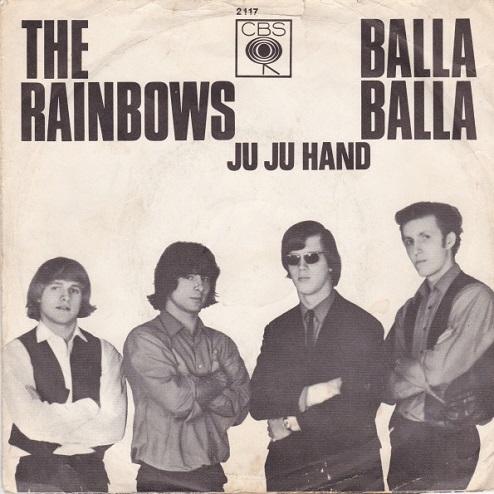 「Balla Balla」[The Rainbows]シングルジャケット。.jpg