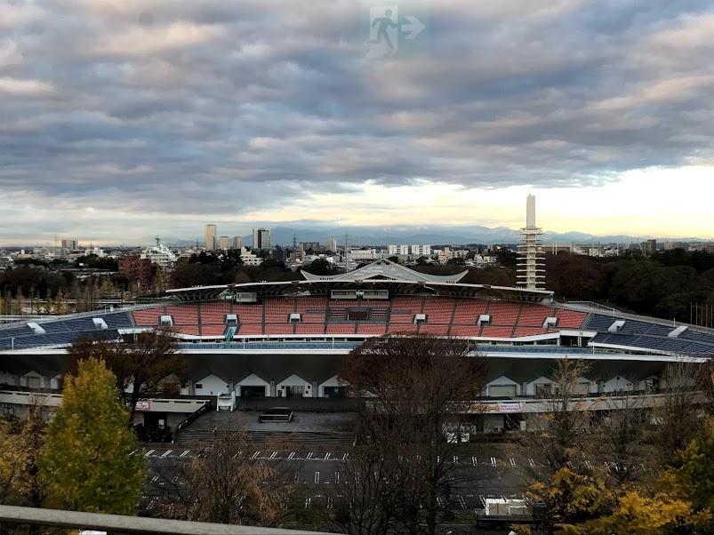 駒沢オリンピックセンター。