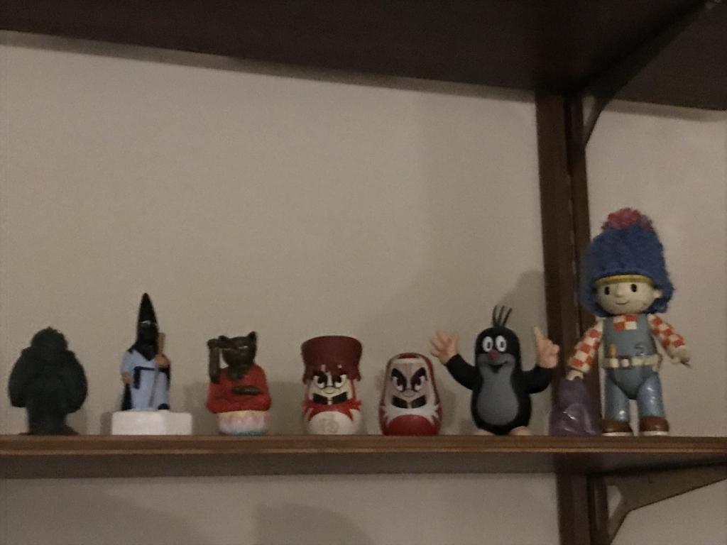 小倉神殿の神々たち。