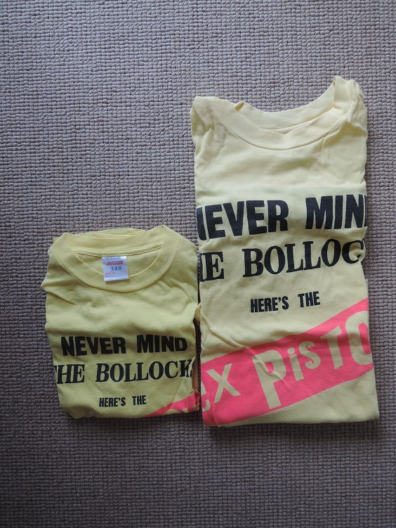1996 Sex Pistols Official Tour Shirts Large & Child Size.JPG