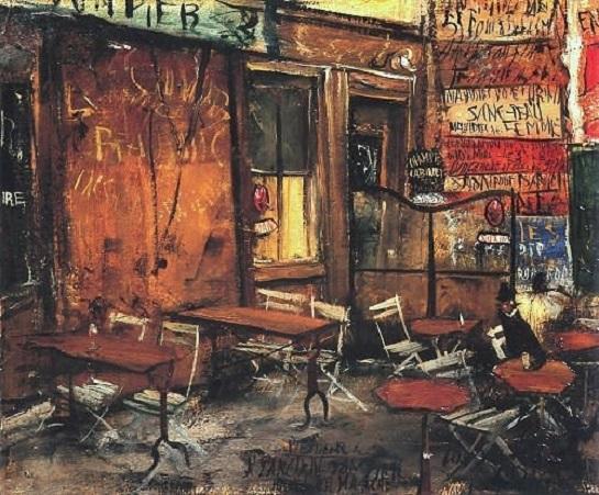 レストラン by 佐伯祐三(1927年).jpg