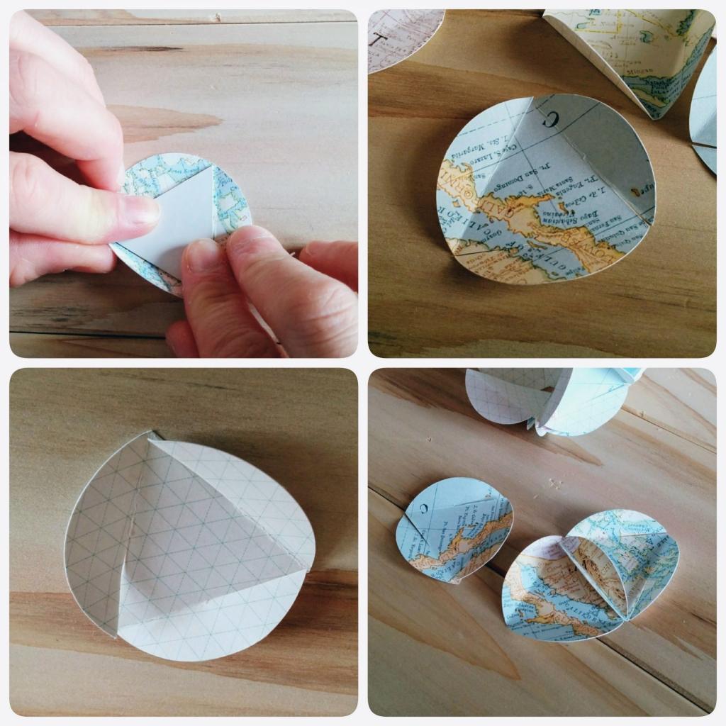 紙で球を作る作り方のヒント