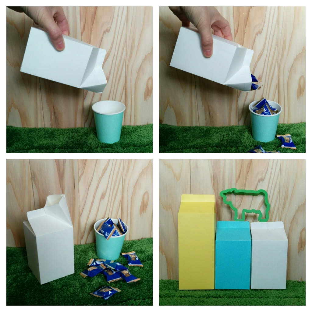 牛乳パックBOX