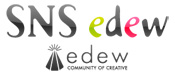 SNS edewロゴ