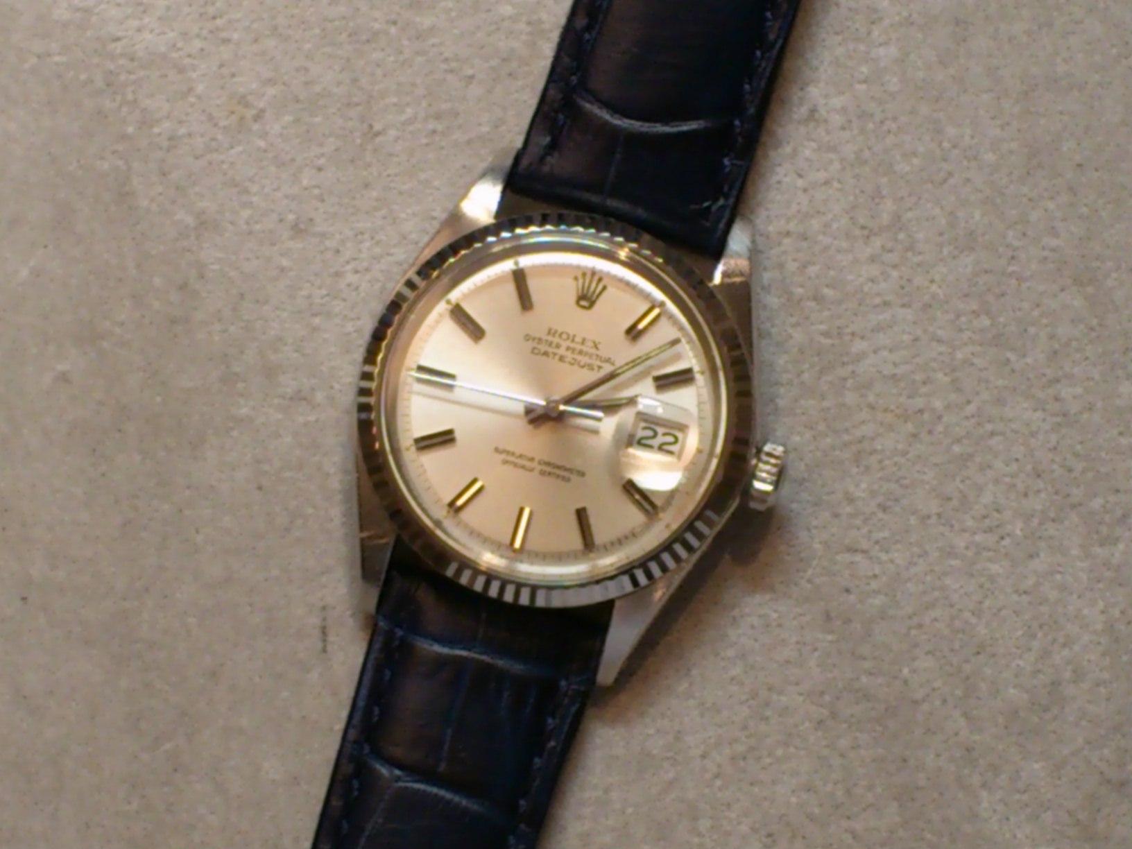big sale eb1f8 e1a91 絶対オススメ!! アンティークロレックスには革ベルトを。 | 時計 ...