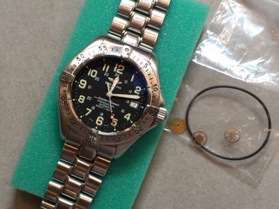 buy online 8747f d5c1d 時計修理 ブライトリング A17345 スーパーオーシャン ...