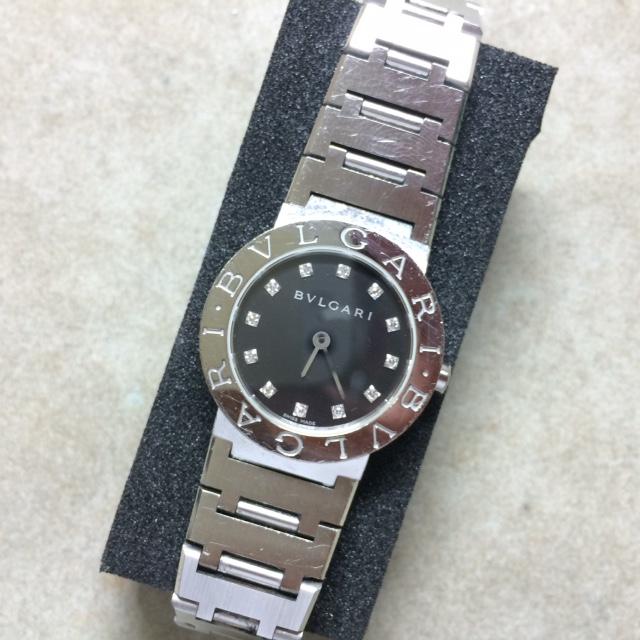 sale retailer 6fe10 fd1ed 時計修理 ブルガリ BVLGARI ブルガリブルガリ 電池交換完了 ...