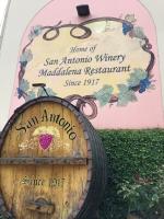サンアントニオワイナリー樽
