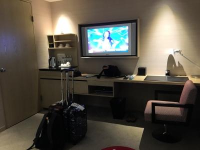部屋テレビ側