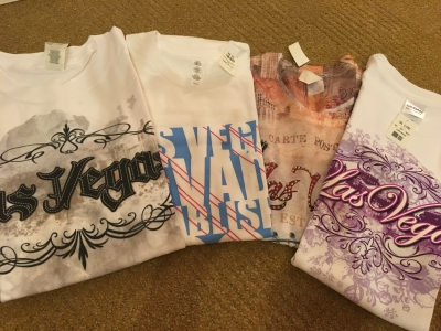 Tシャツいっぱい