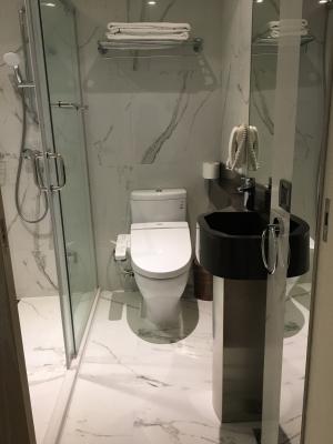 台北Kホテル部屋トイレ