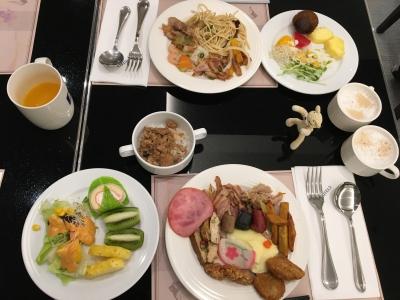 台北Kホテル朝食1日目