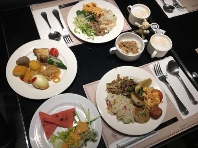 台北Kホテル朝食2日目