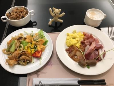台北Kホテル朝食3日目1