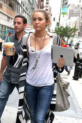 マイリー・サイラス(Miley Cyrus) in New York.