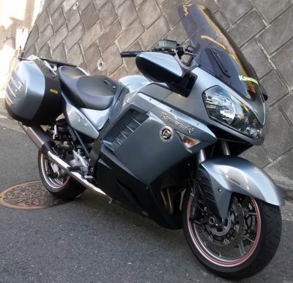 Kawasaki 1400GTR Remus Hexacone