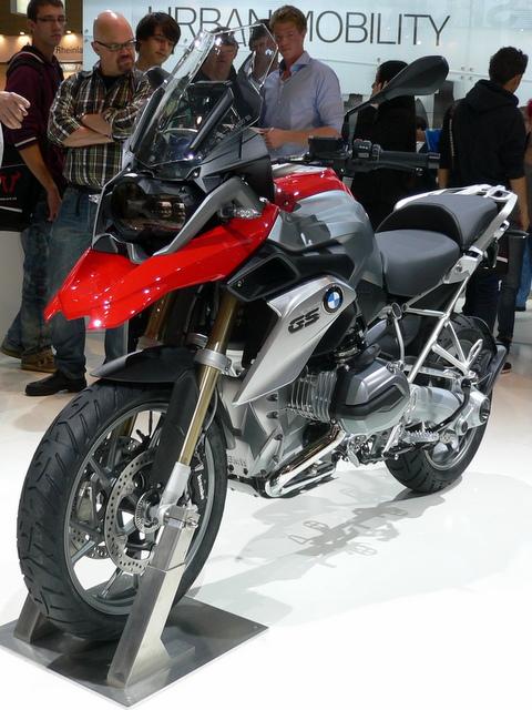 インターモト2012 R1200GS