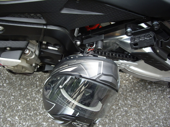 BMWヘルメットロック